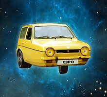 C3PO RELIANT ROBIN by w1ckerman