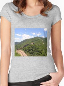 Great Wall China Women's Fitted Scoop T-Shirt