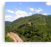 Great Wall China Canvas Print