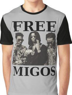 FREE MIGOS Graphic T-Shirt