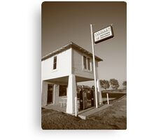 Route 66 - Lucilles Gas Station Canvas Print