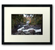 Ragged Falls Framed Print