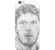Andy Dwyer/Chris Pratt Portrait iPhone Case/Skin