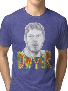 Andy Dwyer/Chris Pratt Portrait Tri-blend T-Shirt