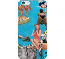 Andy Warhol's Pool Party iPhone Case/Skin