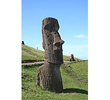 Rano Raraku Head Photographic Print