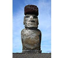Ahu Tongariki Individual Statue Photographic Print