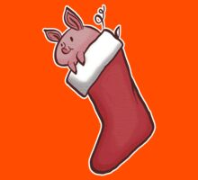 Holiday Christmas Stocking Piglet  Kids Clothes