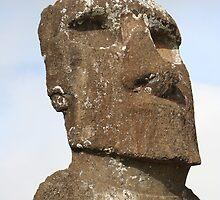 Ahu Akivi Individual Statue by Jan Vinclair