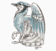 Mythological House Griffin: Blue Jay Variety Kids Clothes
