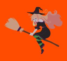 Strawberry Blond Witch Kids Clothes