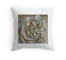 Birth Of Christ - The Portland Oregon Grotto Throw Pillow