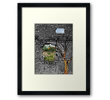 Creativity Lives Framed Print