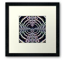 Purple World Framed Print