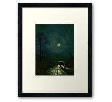 Road Home to Wharfedale Framed Print