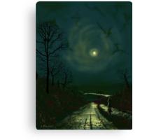 Road Home to Wharfedale Canvas Print