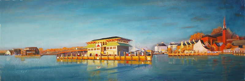 Annapolis Harbor from Eastport to St. Mary's by Phyllis Dixon