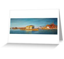 Annapolis Harbor from Eastport to St. Mary's Greeting Card