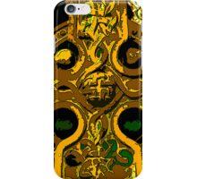 Celtic Cross gold iPhone Case/Skin