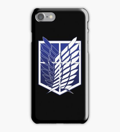 Attack On Titans Survey Corps Logo iPhone Case/Skin