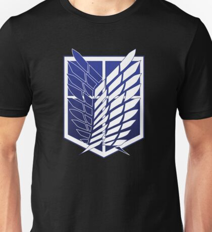 Attack On Titans Survey Corps Logo Unisex T-Shirt