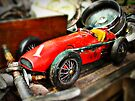 Vintage toy Ferrari by htrdesigns
