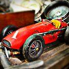 Vintage toy Ferrari by htrdesigns
