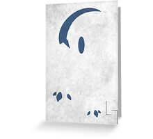 Absol Greeting Card