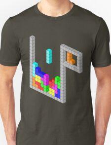 Isometric Tetris Unisex T-Shirt