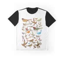 bird & vintage map  Graphic T-Shirt