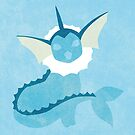 Vaporeon by jehuty23