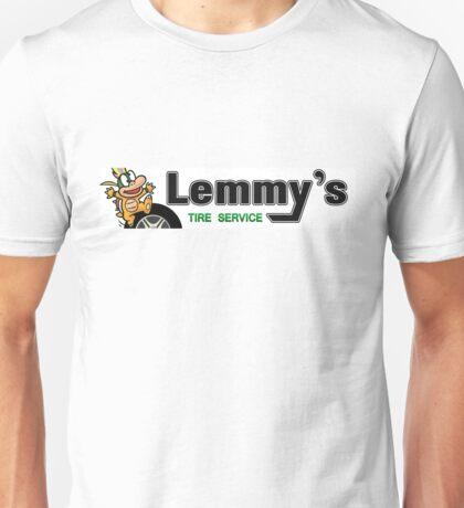 Mario Kart 8 Lemmy's Tire Service Unisex T-Shirt
