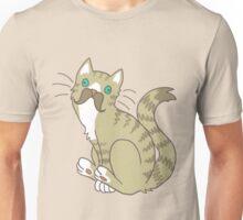 Moustache cat Unisex T-Shirt