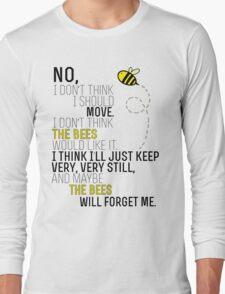 Lots and Lots of Bees! Long Sleeve T-Shirt