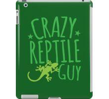 Crazy Reptile Guy iPad Case/Skin