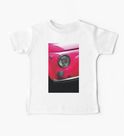 vintage and pink Baby Tee