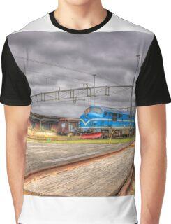 Locomotives of Värnamo VII Graphic T-Shirt