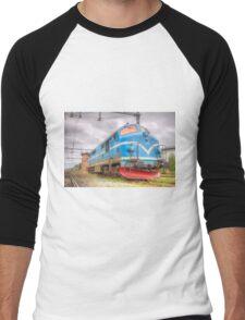 Locomotives of Värnamo VI Men's Baseball ¾ T-Shirt