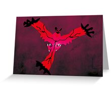 Yveltal Greeting Card