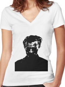 Shadow Zombie Women's Fitted V-Neck T-Shirt