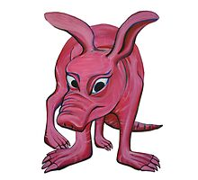 Aardvark (cut out) by Maryevelyn Jones