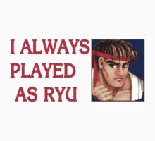 Street Fighter 2 Memories RYU by Jamie Meakin