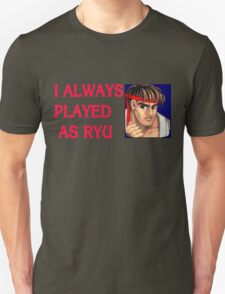 Street Fighter 2 Memories RYU T-Shirt