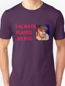 Street Fighter 2 Memories RYU Unisex T-Shirt