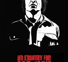 Anton Chigurh (Javier Bardem) No Country For Old Men  by Creative Spectator