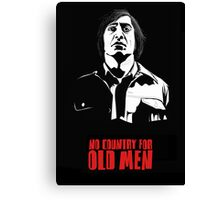 Anton Chigurh (Javier Bardem) No Country For Old Men  Canvas Print