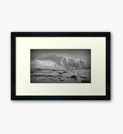 Great Dodd, Lake District National Park. Framed Print