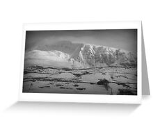 Great Dodd, Lake District National Park. Greeting Card