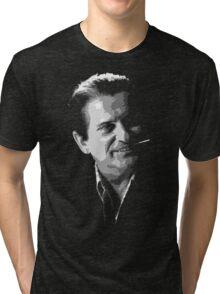 Casino Joe Pesci (Nicky Santoro) illustration Tri-blend T-Shirt