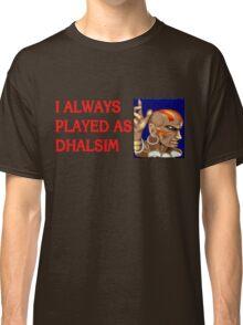 Street Fighter 2 Memories DHALSIM Classic T-Shirt